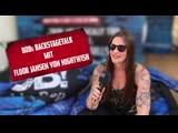 Floor Jansen von Nightwish bei BOBs Backstagetalk