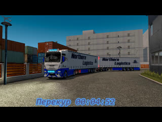 Euro Truck Simulator 2 Карта МАРИО Man TGX EURO-6 Груз из Tokyo