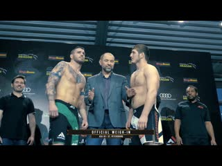 Official Weigh-ins highlights