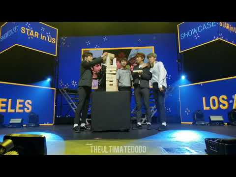 190524 Playing Jenga Part 2 @ TXT Tomorrow x Together Star in US Showcase in LA Concert Fancam