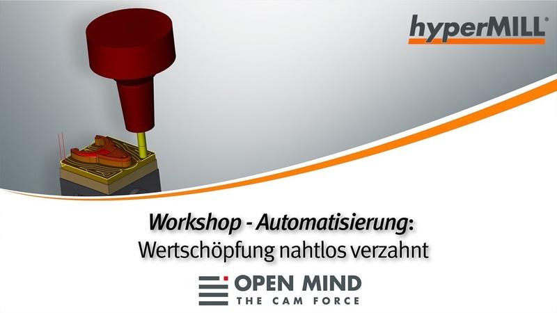 Workshop - Automatisierung: Wertschöpfung nahtlos verzahnt | CERTA | Exeron |CAM-Software|