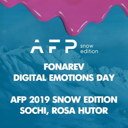 Fonarev - Digital Emotions Day | AFP 2019 Snow Edition | Sochi Rosa Hutor