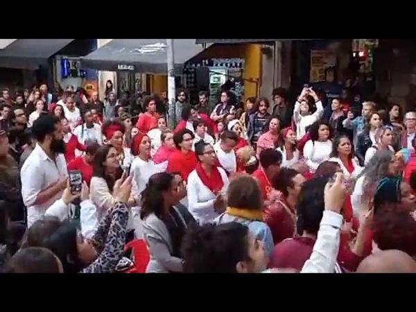 Ilu Obá e Paula Preta, na resistência no projeto Samba Urbano