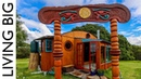Transforming Tiny House Combines Beauty And Engineering For Artful Living || Living Big In A Tiny House