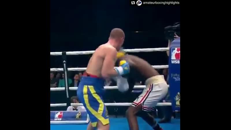 Контр-атака апперкот-хук от кубинского чемпиона мира Эрисланди Савона. До 91 кг