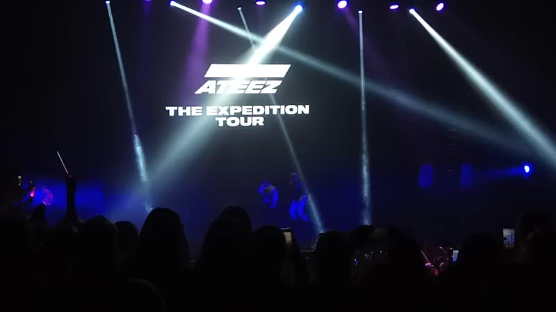 ATEEZ perfomance in Moscow The Expedition Tour