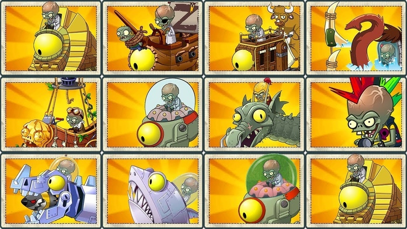 Plants vs Zombies 2 - All Plants vs All Zombot Pvz 2