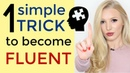 1 Simple Trick to Become Fluent in English Become a Confident Speaker and Stop Translating