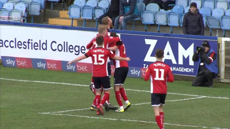 Macclesfield Town 3-3 Crewe Alexandra Sky Bet League Two Highlights
