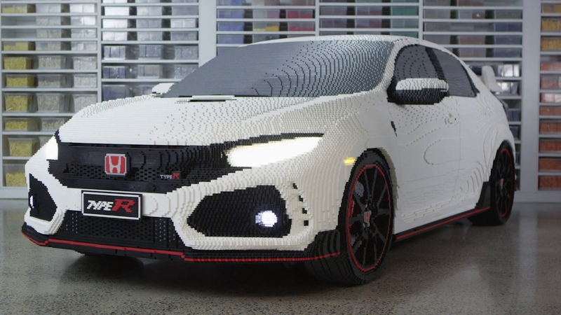 The LEGO® Civic Type R