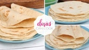 How To Make Homemade Flour Tortillas Soft Chewy