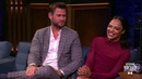 Крис Хемсворт/Chris Hemsworth и Тесса Томпсон/Tessa Thompson. Вечерний Ургант. 07.06.2019