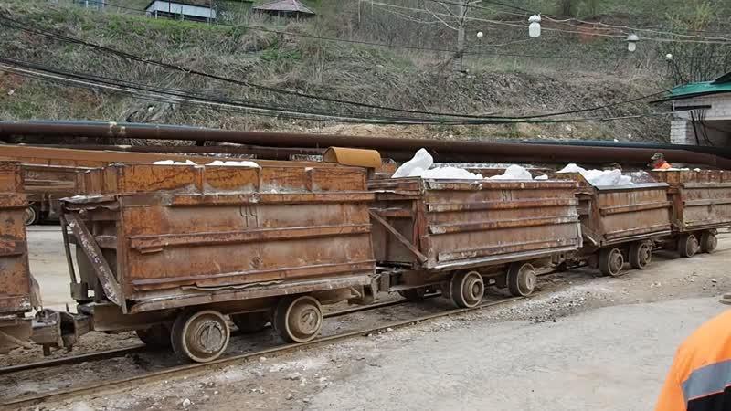 Добыча гипса в Пешелани