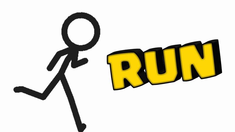 Мой стиль бега в Animating Touch 2, Rough Animator, Stick Nodes Интро