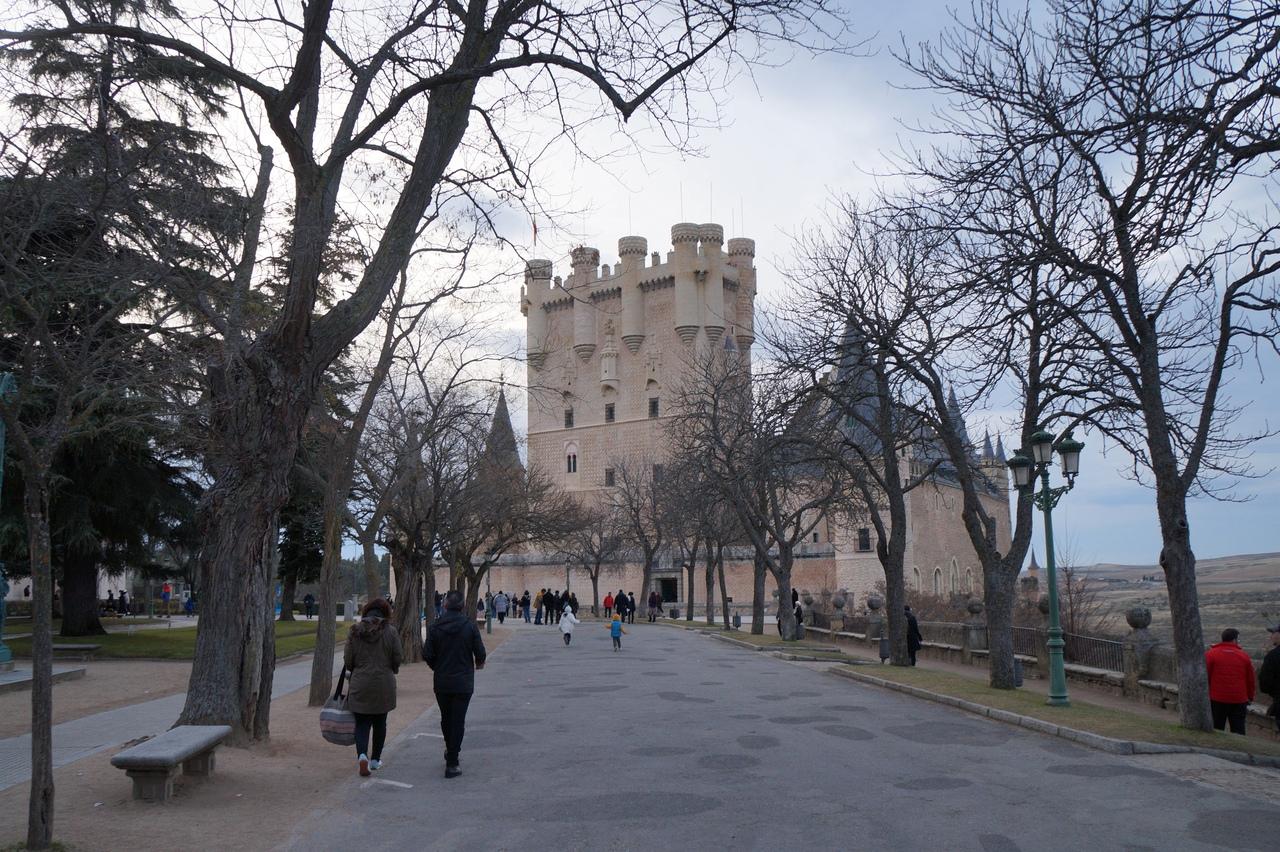 Алькасар Сеговии - главный замок Испании