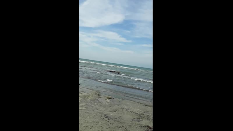 Каспийдің толқыны соғады жағаға