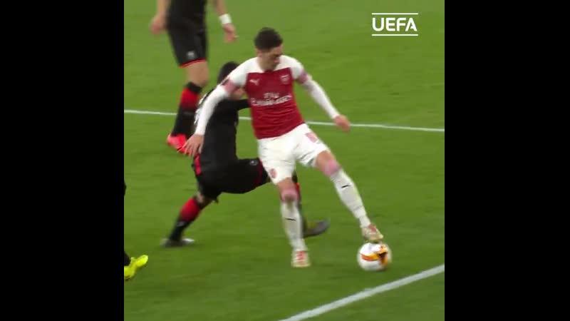 Özil UEL @Arsenal