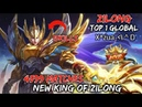 4599 Matches Zilong 15 Kills !! Gameplay By Top 1 Global - Mobile Legends