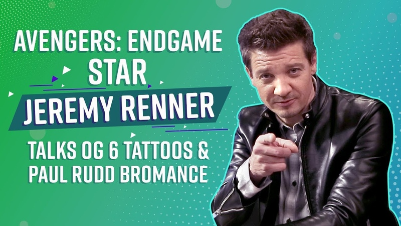 Avengers Endgame star Jeremy Renner I want to be 50-years-old and a virgin with Paul Rudd