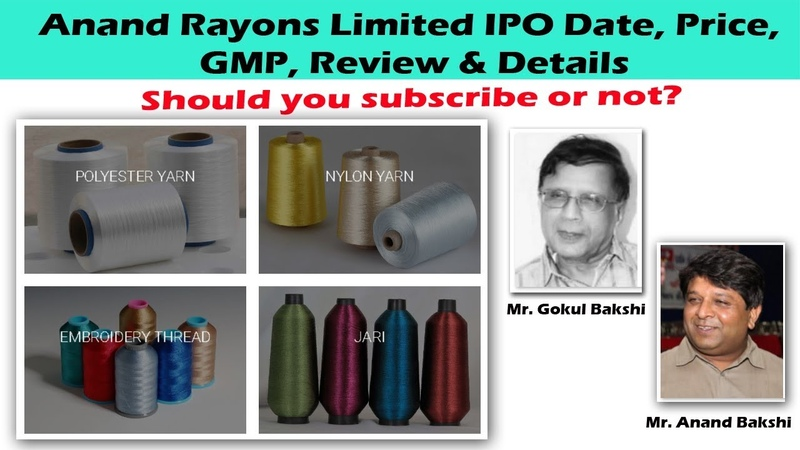 Anand Rayons IPO Date, Price, GMP, Review Details