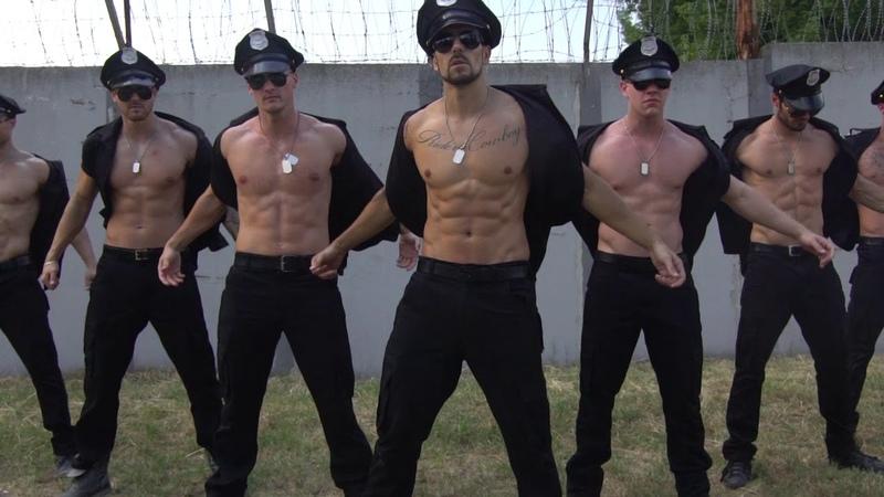 Scooby Doo Papa - DJ Kass (DJ Cobra Remix) - Hot Men Dance Menstrip group