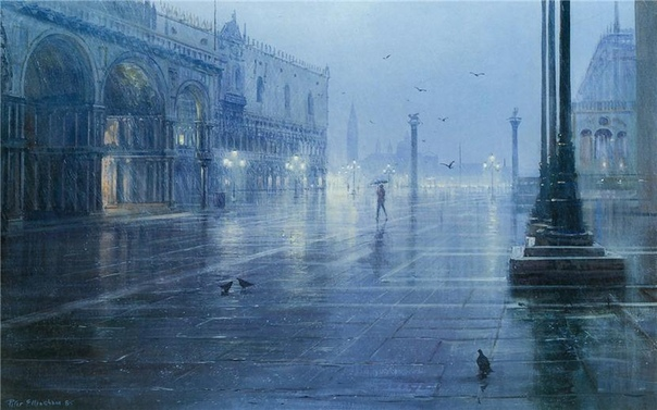 ХУДОЖНИК PETER ELLENSHAW. СКАЗОЧНЫЕ ПЕЙЗАЖИ Peter Ellenshaw родился в 1913 году в Лондоне, закончил Королевскую академию искусств и трудился в качестве художника в зарождающейся киноиндустрии. В