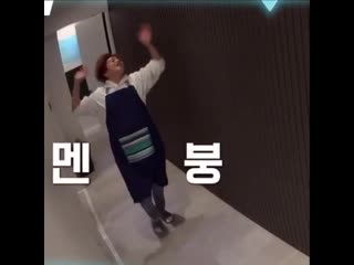 still cant get over minseok's reaction when exo's members were everywhere in his house