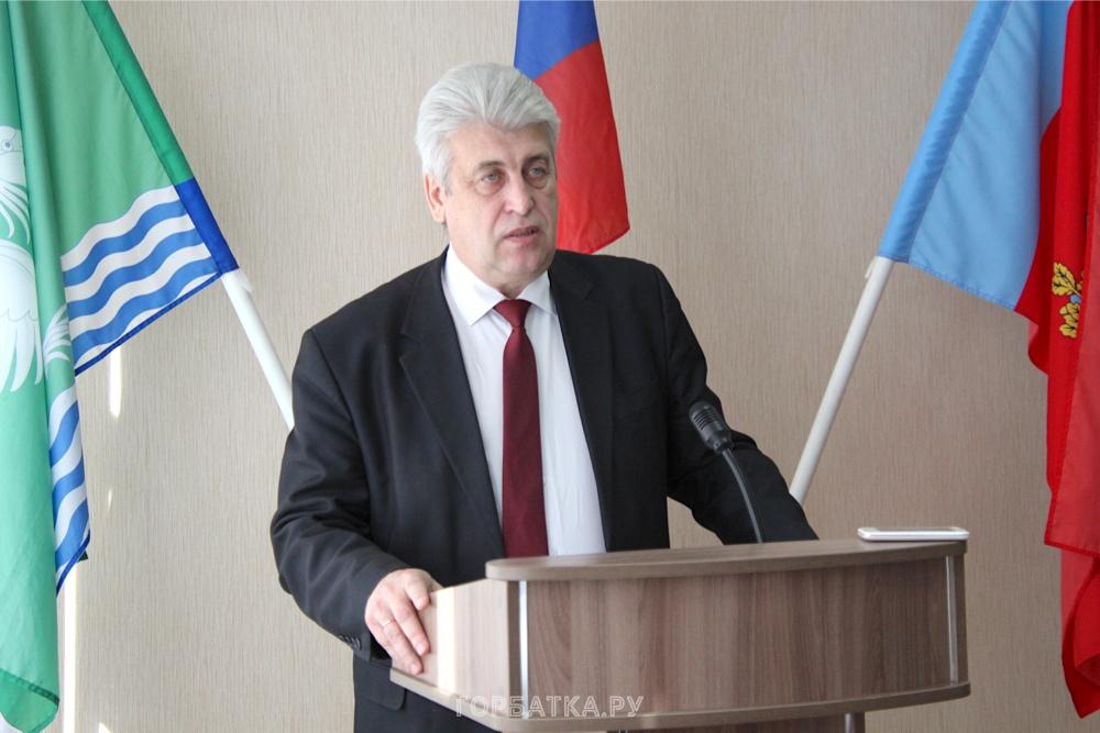 Выступление главы администрации на Совете народных депутатов