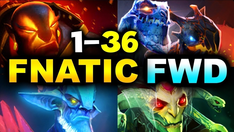 FNATIC vs FWD - 1-36 GG! - BRUTAL SAVAGE REKT! - NiP vs PaiN - EPICENTER MAJOR 2019 DOTA 2