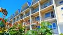 Вид с балкона отеля Находка на Черном море