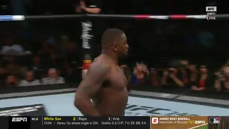 Третий самый быстрый нокаут в истории UFC.