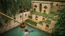 Dig To Build The Best Secret Ancient Underground Deep Pool And Underground House