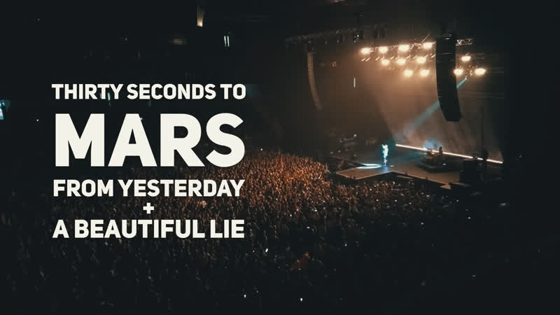 Thirty Seconds To Mars From Yesterday A Beautiful Lie Live in Chizhovka Аrena 15 07 2019
