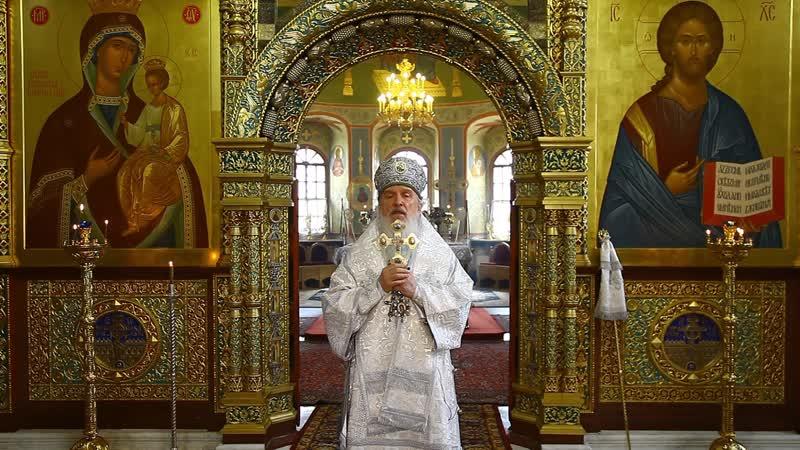 Проповедь в Лазареву субботу митрополита Тобольского и Тюменского Димитрия
