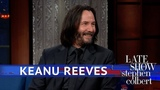 Keanu Reeves What It's Like To Fight On A Horse