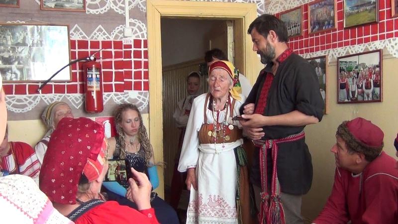 А на закате заря догорала. Понизова Тамара. Савиновщина. Folklore. Tradition. 전통. مردم