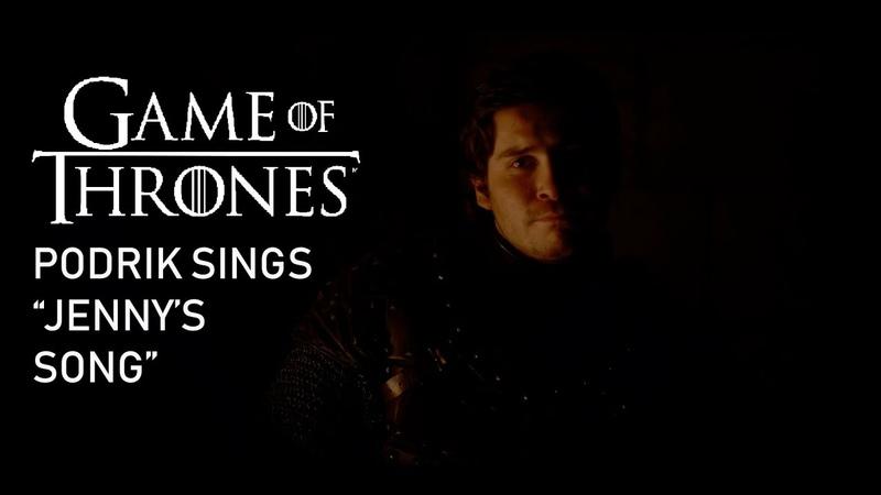 Podrik sings Jenny of Oldstones (Game of Thrones - Season 8 Episode 2)
