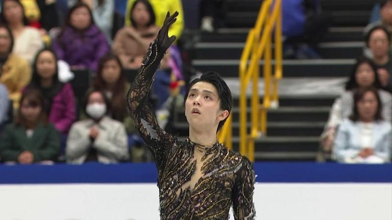 Юдзуру Ханю выиграл серебро чемпионата мира Произвольная программа Мужчины