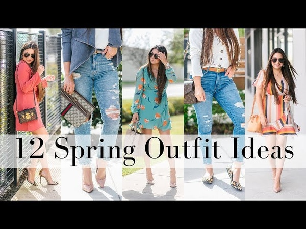 WHAT I WORE - 12 Spring Outfit Ideas | LuxMommy