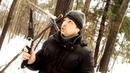 Bushcraft Одиночный поход / Строю шалаш в лесу