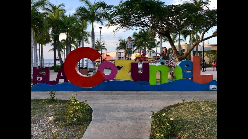 Mexico, Cozumel. Мексика, остров Коcумель.
