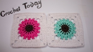 Crochet tutorial: How to crochet a granny square for beginners step by step ep02