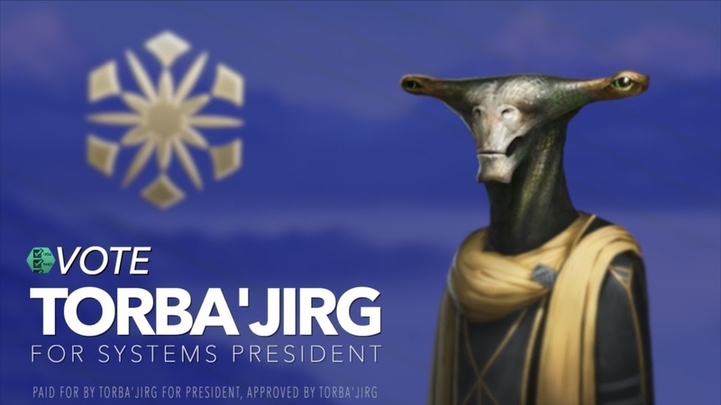 Political Ad: Vote Torba'Jirg for Systems President