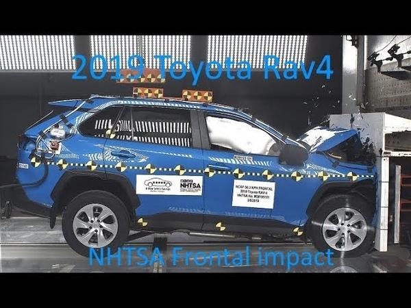 2019-2020 Toyota Rav4Hybrid (XA50) NHTSA Frontal Impact