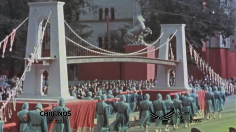 Нацистская Германия в цвете 1936 1945 годы оцифрованное уникальные кадры