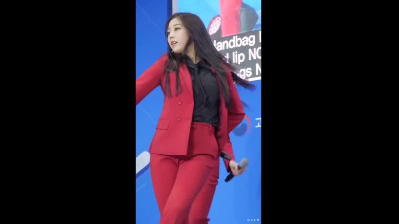 190423 Eunbin (CLC) - NO Black Dress @ 2019 Korean ATD Fair