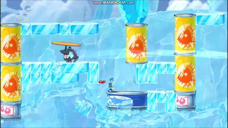 Прохождение локаций с боссами в Rayman Origins 1