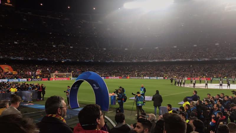 Лига Чемпионов 18/19 Barcelona - Lyon (5:1)