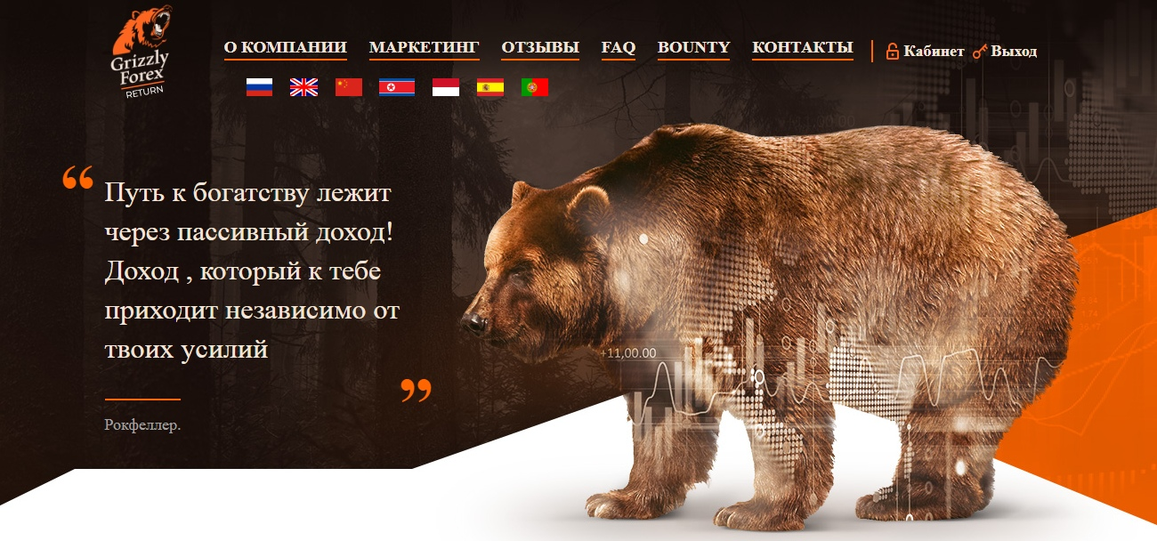 Постер к новости Grizzly Forex Return