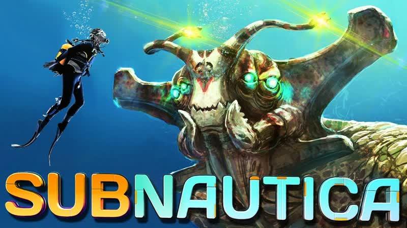 (стрим) Subnautica 3 Загадки космического корабля !!